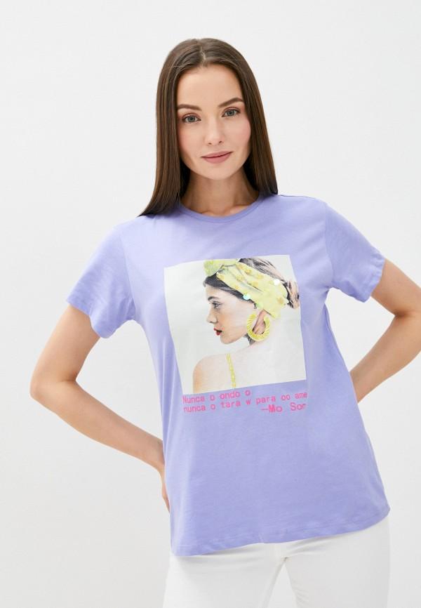 Whitney | фиолетовый Футболка Whitney | Clouty