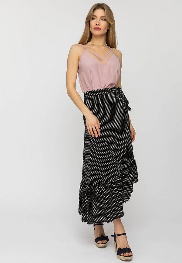 Gloss | Женский розовый топ Gloss | Clouty