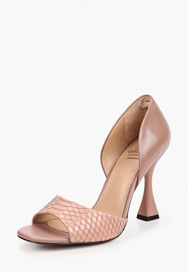 Graciana | розовый Женские розовые туфли Graciana Тунит | Clouty
