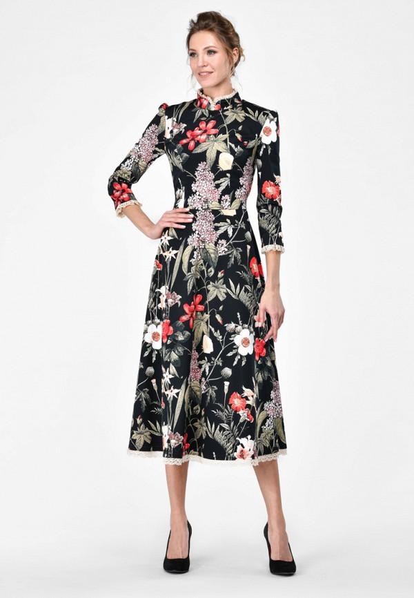 Alisia Fiori | черный Женское черное платье Alisia Fiori | Clouty