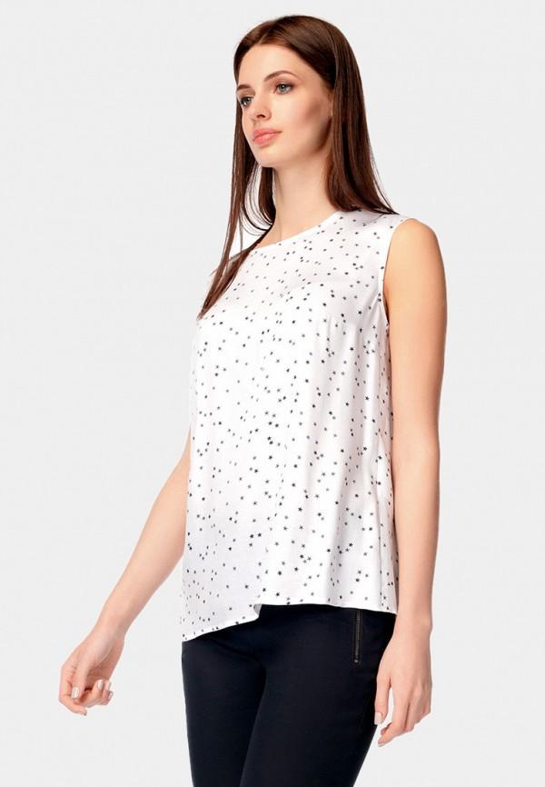 Pompa | белый Женская белая блуза Pompa | Clouty