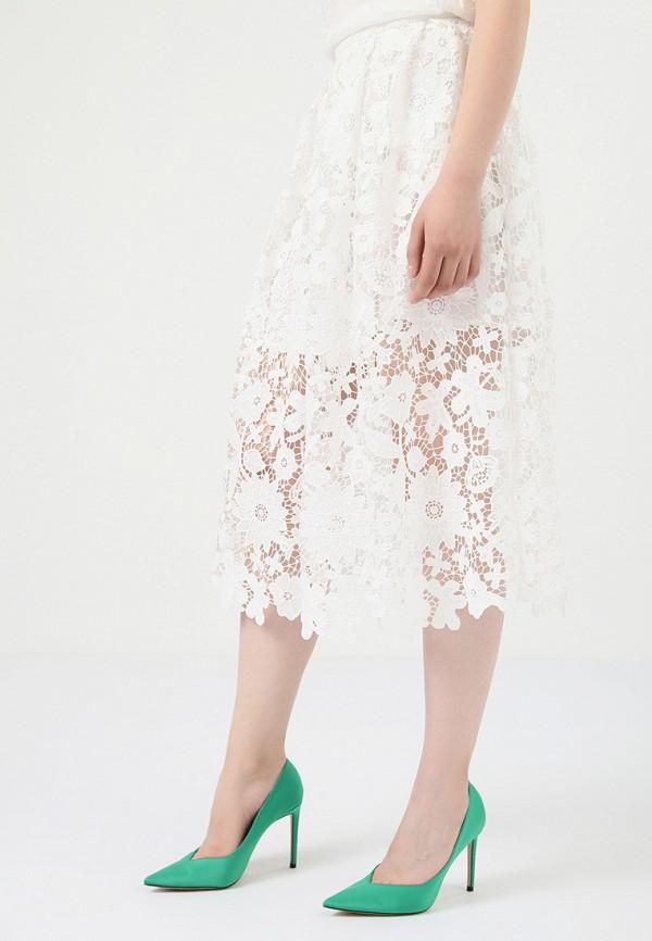 Lime | белый Летняя белая юбка Lime | Clouty