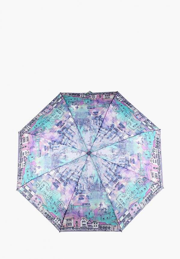 Eleganzza | Женский фиолетовый складной зонт Eleganzza | Clouty