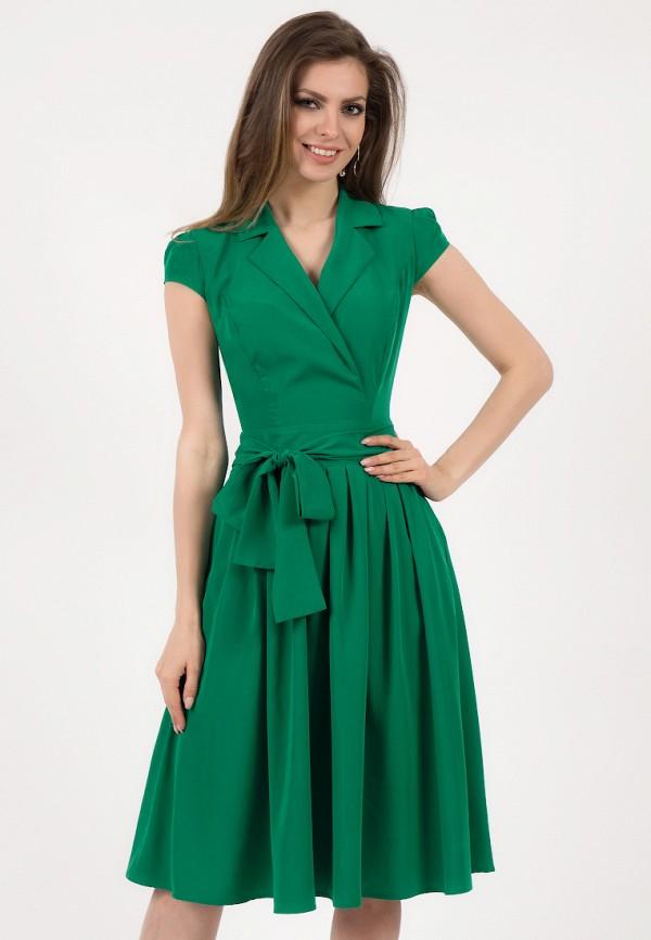 Olivegrey   зеленый Женское летнее зеленое платье Olivegrey   Clouty
