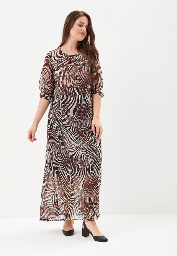 Berkline   коричневый Женское летнее коричневое платье Berkline   Clouty