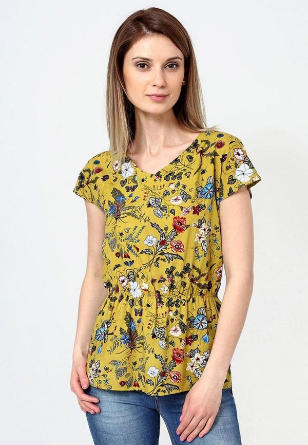 F5 | желтый Женская желтая блуза F5 | Clouty