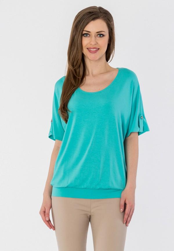 S&A Style | бирюзовый Женская бирюзовая футболка S&A Style | Clouty