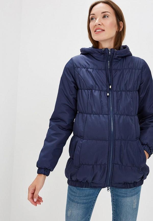 Очаровательная Адель | синий Женская синяя утепленная куртка Очаровательная Адель | Clouty
