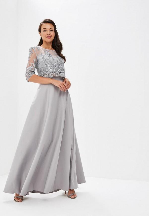 Seam | Женский серый костюм Seam | Clouty