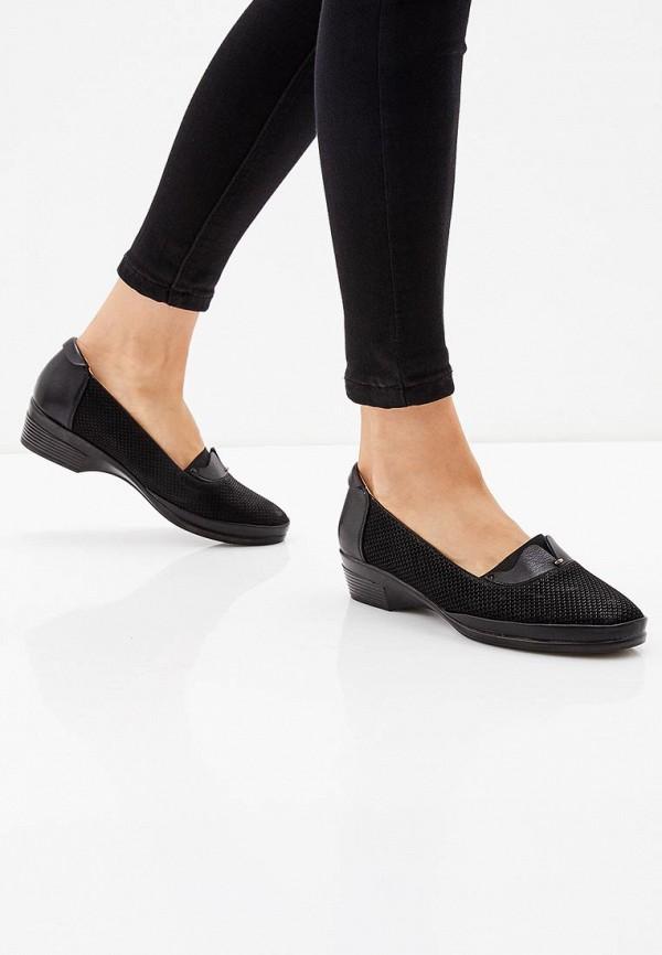 T.Taccardi | черный Черные туфли T.Taccardi полиуретан | Clouty