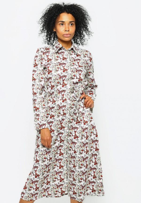 Malaeva | мультиколор Летнее платье Malaeva | Clouty