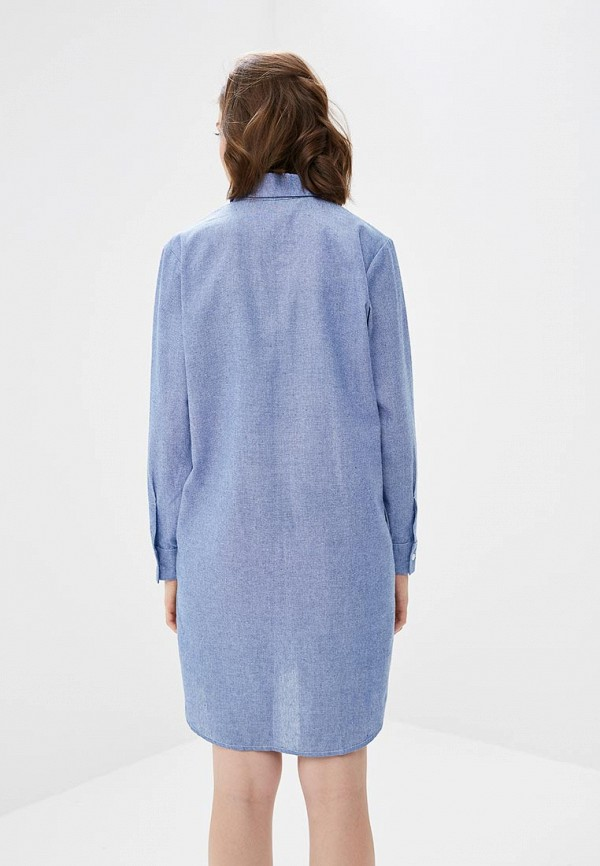 M,a,k you are beautiful | голубой Голубое платье M,a,k you are beautiful | Clouty