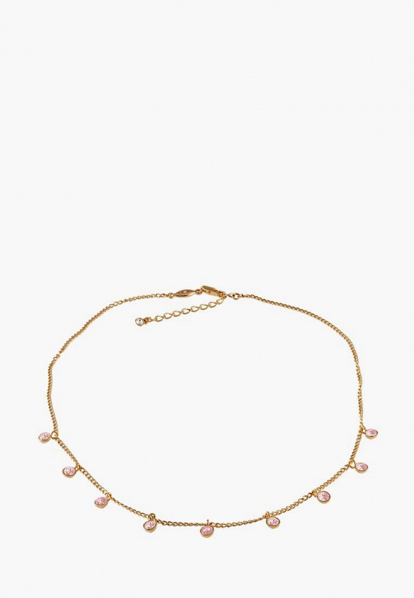 Mademoiselle Jolie Paris | золотой, розовый Женское колье Mademoiselle Jolie Paris | Clouty