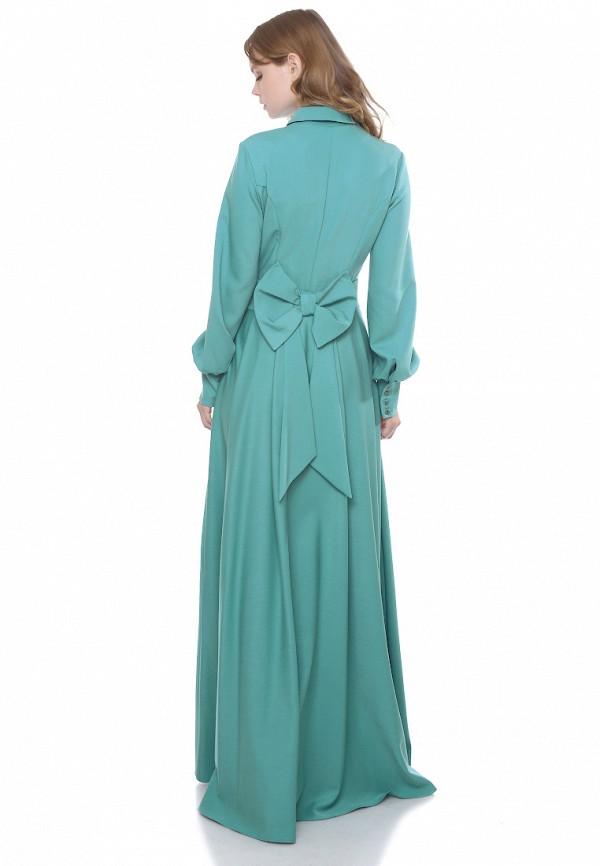 Marichuell   бирюзовый Бирюзовое платье Marichuell   Clouty