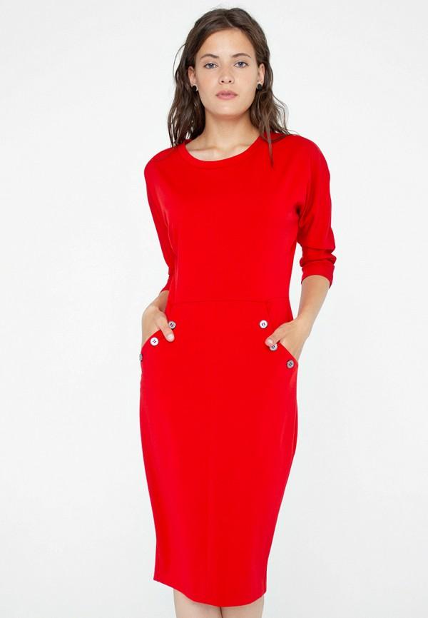 Eliseeva Olesya | красный Женское красное платье Eliseeva Olesya | Clouty