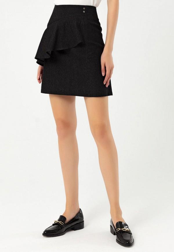 Lezzarine | черный Черная юбка Lezzarine | Clouty