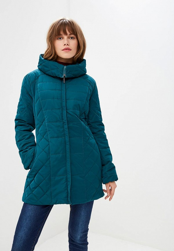 Dizzyway | зеленый Женская зеленая утепленная куртка Dizzyway | Clouty