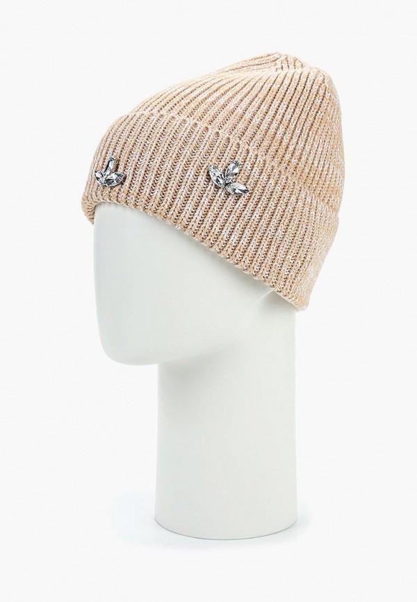 Freespirit | бежевый Женская бежевая шапка Freespirit | Clouty