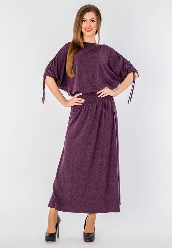 Malena | фиолетовый Женское фиолетовое платье Malena | Clouty