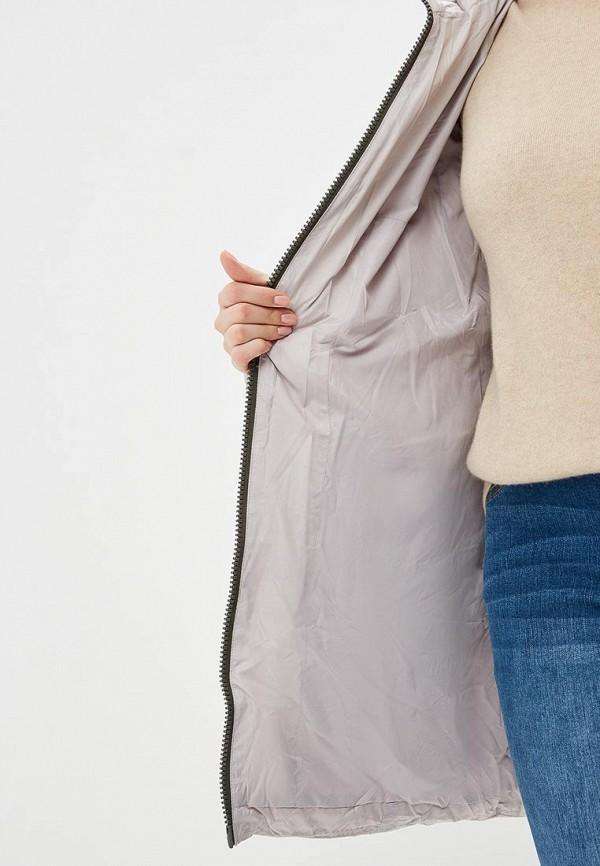 Vlasta | серый Женская зимняя серая утепленная куртка Vlasta | Clouty