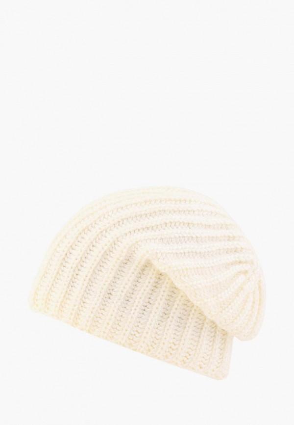 Fomas | бежевый Женская зимняя бежевая шапка Fomas | Clouty
