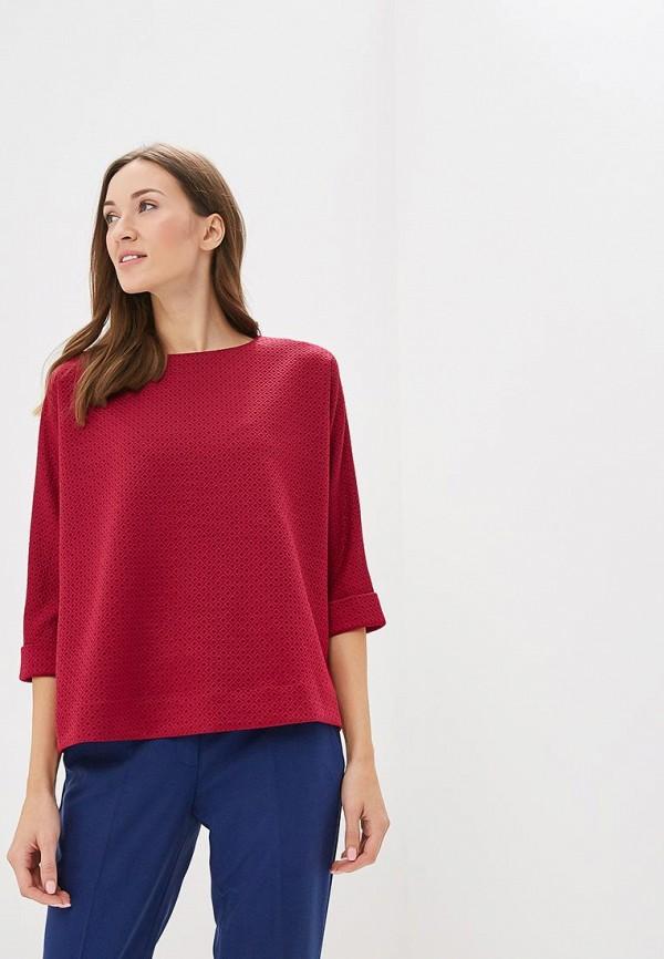Ruxara | бордовый Женская бордовая блуза Ruxara | Clouty