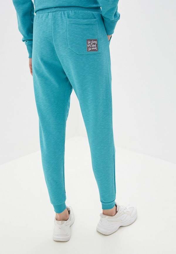 Inmark | бирюзовый Женские бирюзовые спортивные брюки Inmark | Clouty