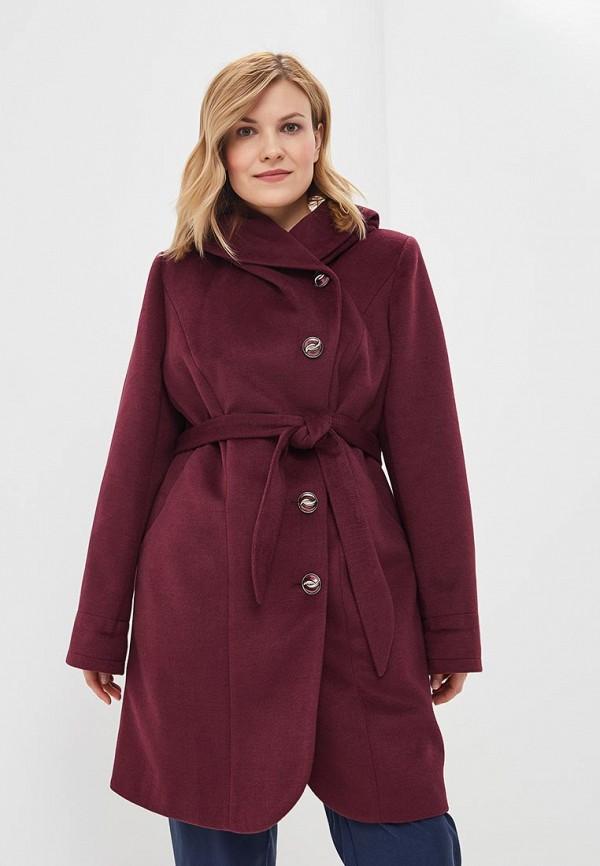 Cassidy   бордовый Женское бордовое пальто Cassidy   Clouty