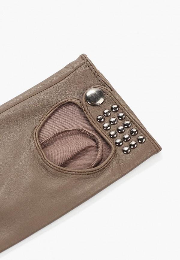 Labbra | коричневый Женские коричневые перчатки Labbra | Clouty