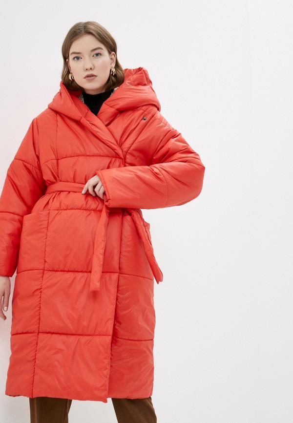 Merry Perry | красный Женская зимняя красная утепленная куртка Merry Perry | Clouty