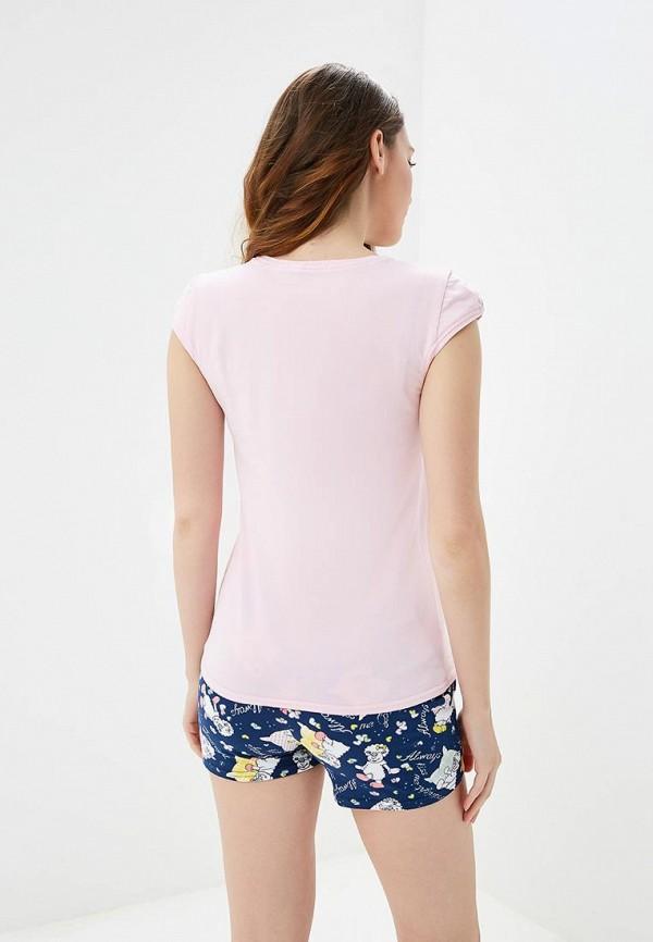 Cleo | розовый, синий Женский домашний костюм Cleo | Clouty