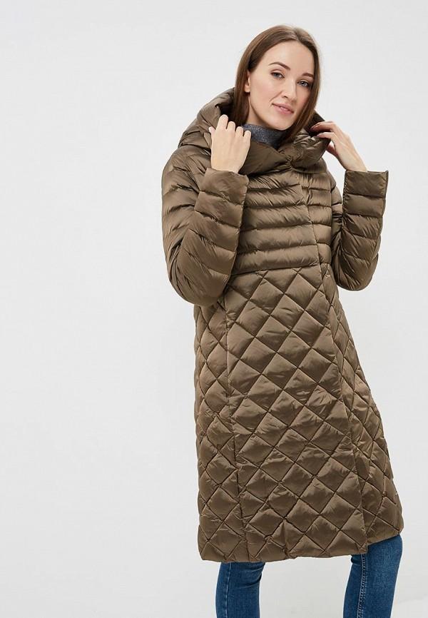 Conso Wear | Женский зимний коричневый пуховик Conso Wear | Clouty