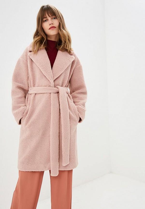 Fashion.Love.Story | розовый Женская розовая шуба Fashion.Love.Story | Clouty