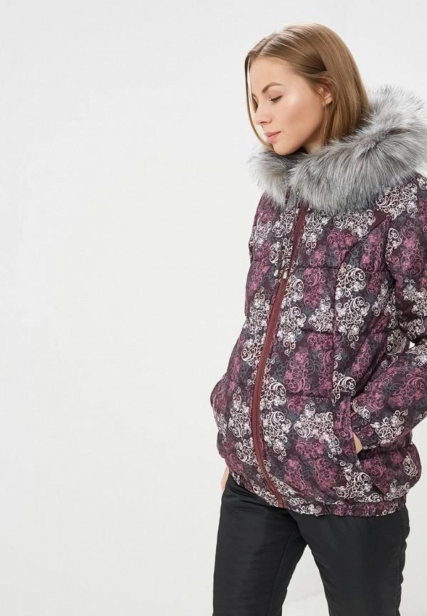 Очаровательная Адель | фиолетовый Женская зимняя фиолетовая утепленная куртка Очаровательная Адель | Clouty