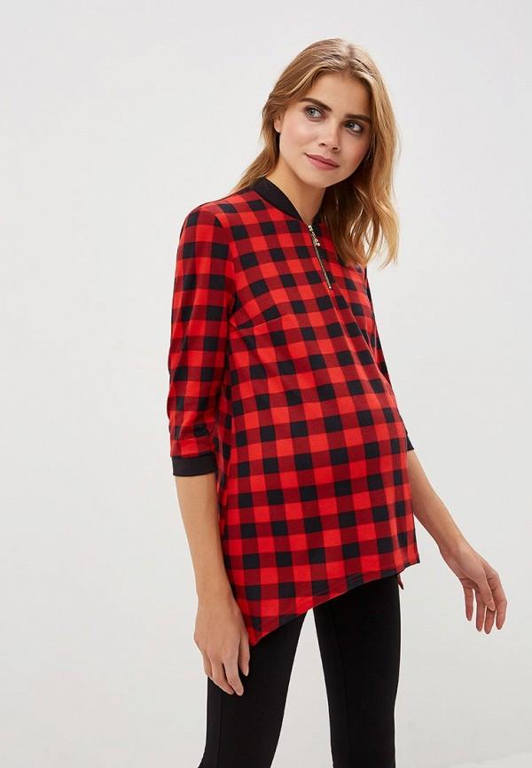 Очаровательная Адель | красный Блуза | Clouty