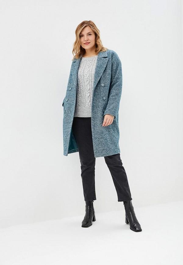 Gamelia | бирюзовый Женское бирюзовое пальто Gamelia | Clouty
