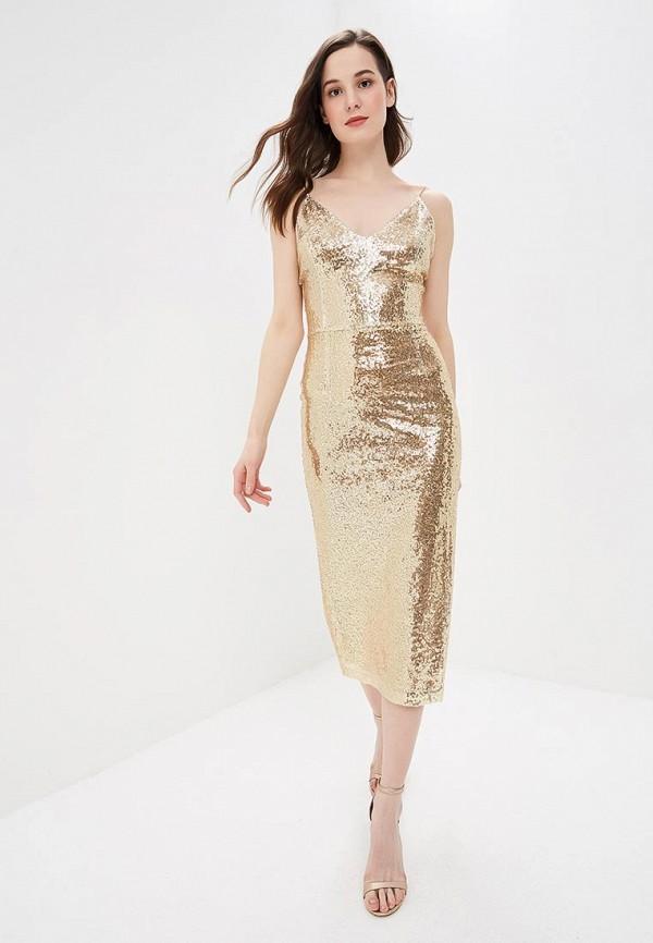 Fashion.Love.Story | золотой Женское золотое платье Fashion.Love.Story | Clouty