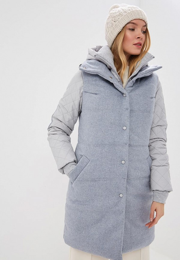 Ducky Style | голубой, серый Женская утепленная куртка Ducky Style | Clouty