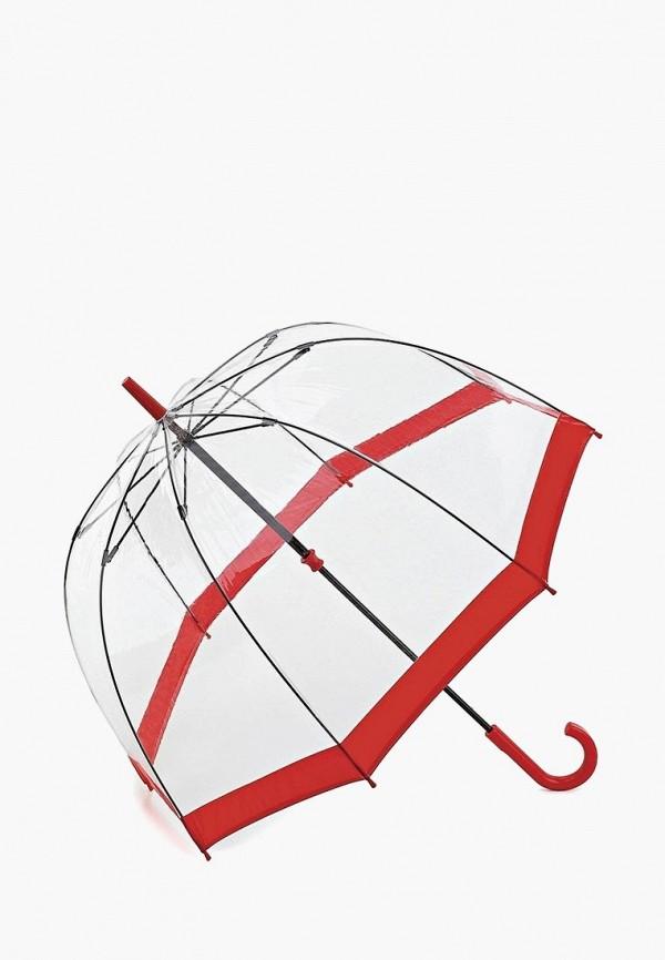 Fulton | Женский прозрачный зонт трость Fulton | Clouty
