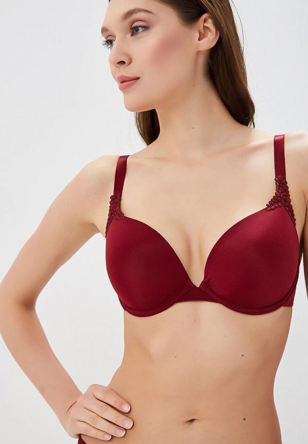 Viania | бордовый Бюстгальтер Viania | Clouty