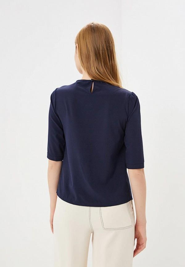 Grafinia | синий Женская синяя блуза Grafinia | Clouty