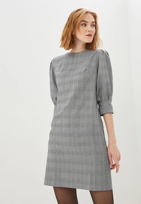 Shovsvaro   серый Женское серое платье Shovsvaro   Clouty