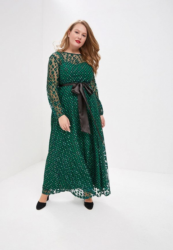 Svesta   зеленый Женское зеленое платье Svesta   Clouty