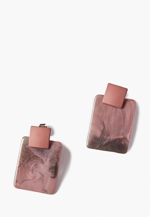 Exclaim | фиолетовый Женские фиолетовые серьги Exclaim | Clouty