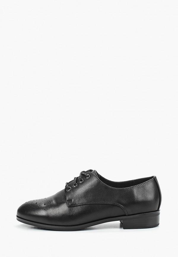 Pierre Cardin | черный Женские черные ботинки Pierre Cardin кожволон | Clouty
