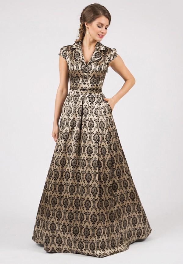 Olivegrey | золотой Золотое платье Olivegrey | Clouty