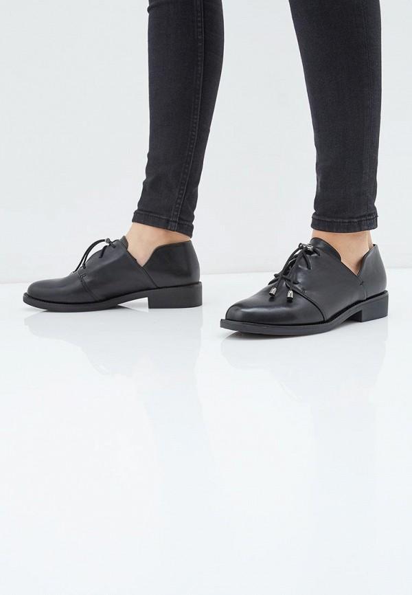 T.Taccardi | черный Женские черные ботинки T.Taccardi термопластиковая резина | Clouty