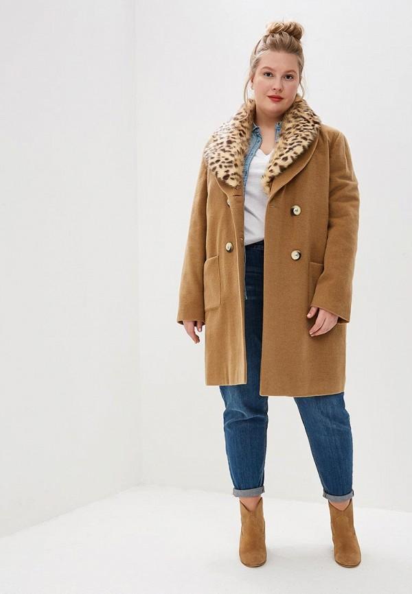 Style National   бежевый Женское бежевое пальто Style National   Clouty