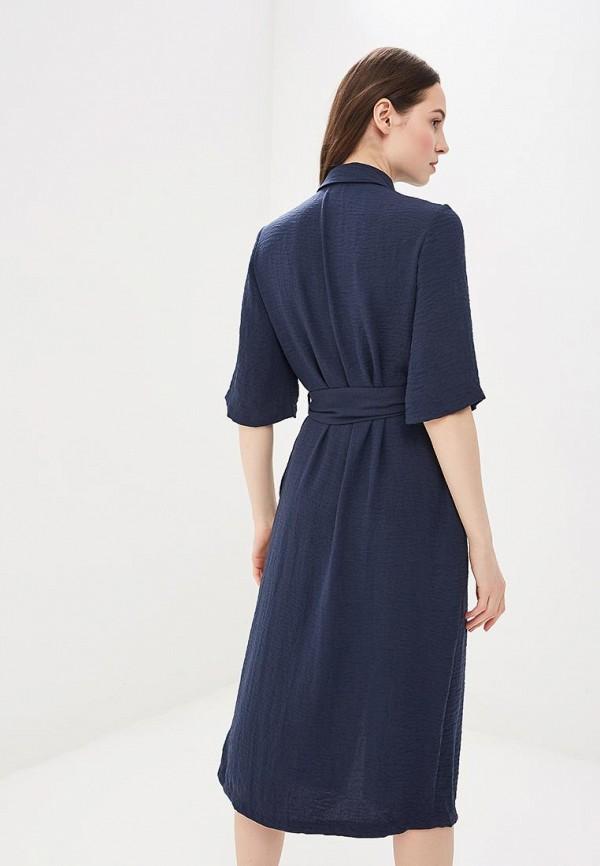 Zarina   синий Женское синее платье Zarina   Clouty