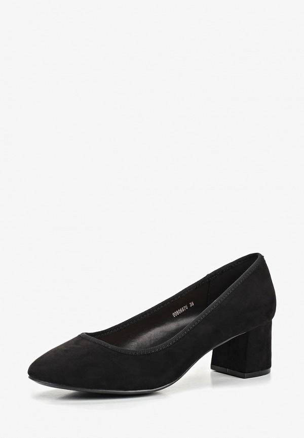 T.Taccardi | черный Черные туфли T.Taccardi искусственный материал | Clouty